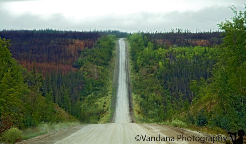Dalton Highway is actually not that bad. Yeah, its gravelly, almost all of it...