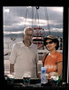 The return journey was far more relaxed, now that we had a cabin. We slept for long hours, occasionally venturing out into the Sun Deck to take a few pictures. <br /> <br /> Here's a picture of Vandana & her dad through the window in our cabin!