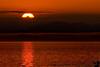 Sunset on our last day on the Tustumena