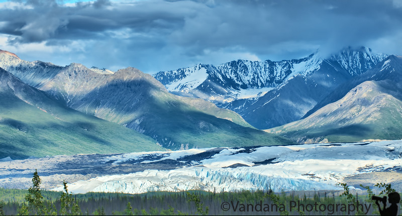 Another roadside glacier - this one's Matanuska, at the Glacier viewpoint on Glenn Highway