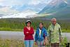 V with parents at Matanuska.
