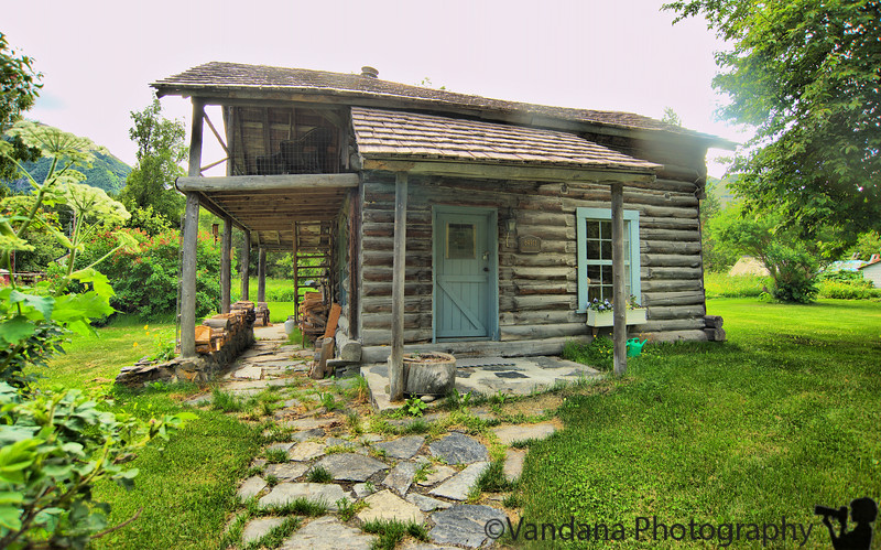 the post-office at Hope, AK<br /> Supposedly a century old!!!