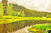July 4, 2010 - The lake right outside the Alyeska Resort.