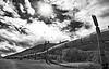 July 7, 2010 - start off from Glennallen to valdez. pass by the Trans-alaska oil pipeline