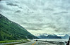 Notice the time this shot was taken - 45 minutes PAST midnight!!!<br /> That's Alaska for you.<br /> Reached Anchorage at midnight, rented an Enterprise car for a long drive to the Alyeska Resort in Girdwood, along the Seward highway.