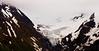 Roadside glacier visible from Girdwood