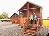 July 10, 2010 - check out from our cabins at Eagles rest RV park