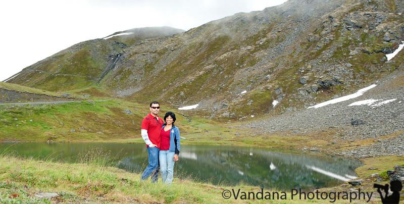 At Summit lake