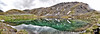 Summit Lake<br /> a 3 image panoramic merged in adobe photoshop CS5