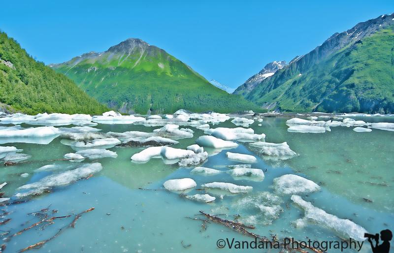 July 9, 2010 - off to valdez Glacier