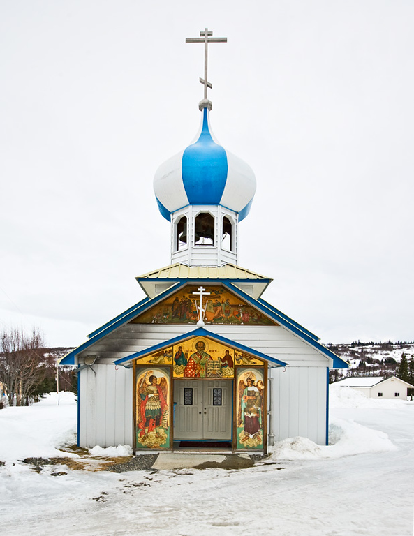 Russian Orthodox Church at Nikolaevsk.
