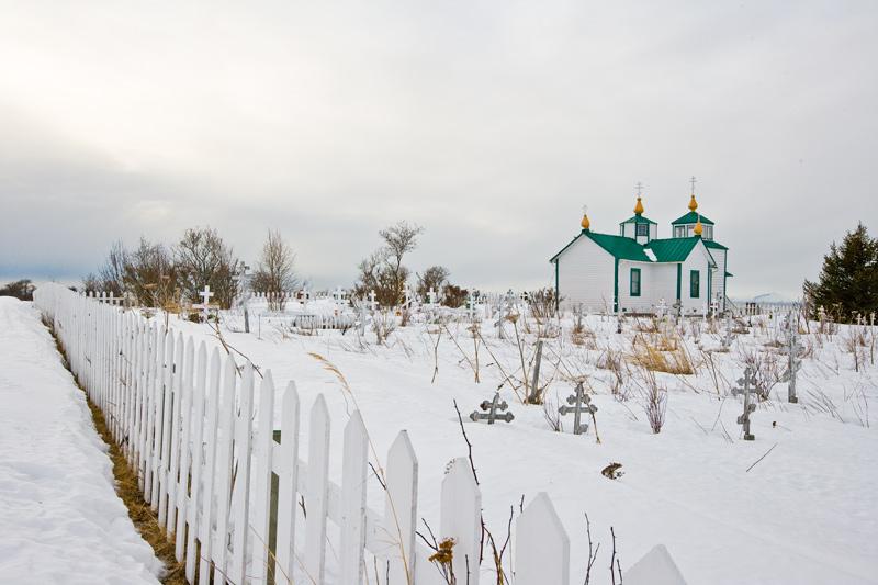 Russian Ortodox Church at Ninilchik.