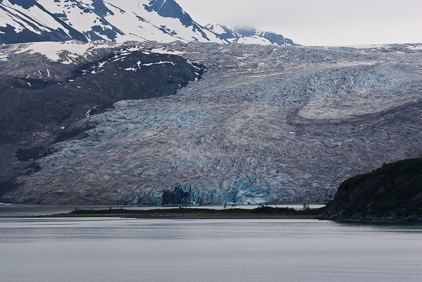 Reid Glacier in Glacier Bay National Park