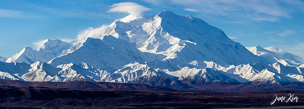 Denali peak at Denali National Park