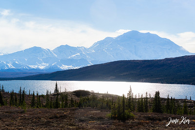 Denali and Alaska Range at Wonder Lake