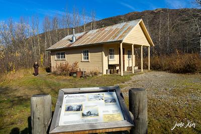 Fannie Quigley's historic cabin (Mile 92)