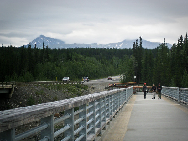 Walkway near Princess Denali Lodge