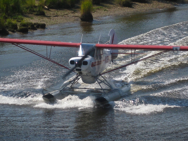 Float planes are a way of life in Alaska. The state has the highest number of pilots per capita.