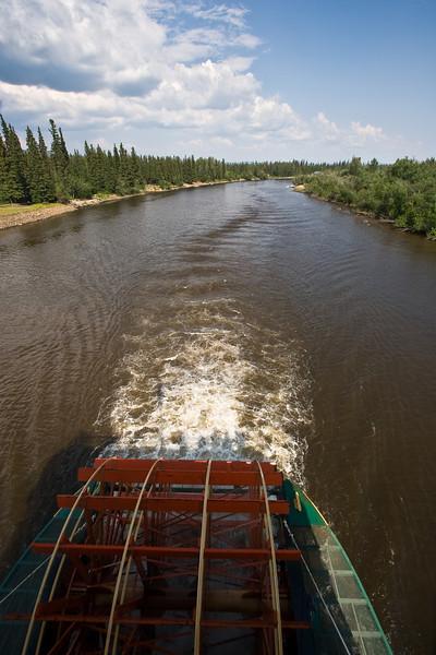 Riverboat along Chena River