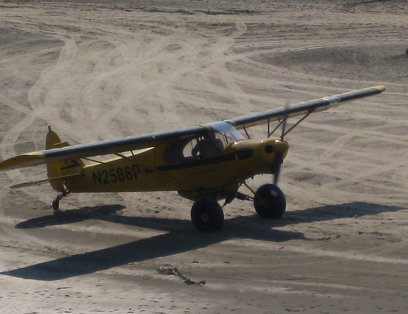 Another float plane readies for takeoff