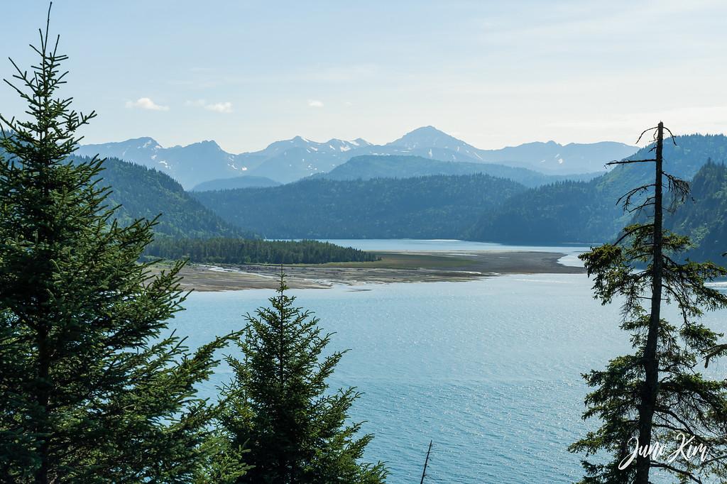 The view of Kachemak Bay