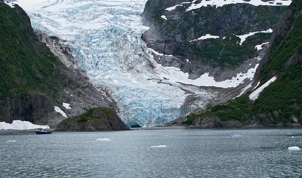 Holgate Glacier in Kenai Fjords National Park