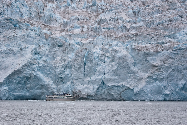Holgate Glacier in Kenai Fjords National Park