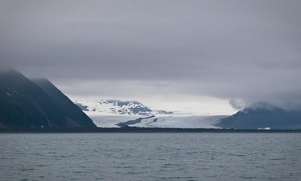 Tidewater glacier in Kenai Fjords National Park