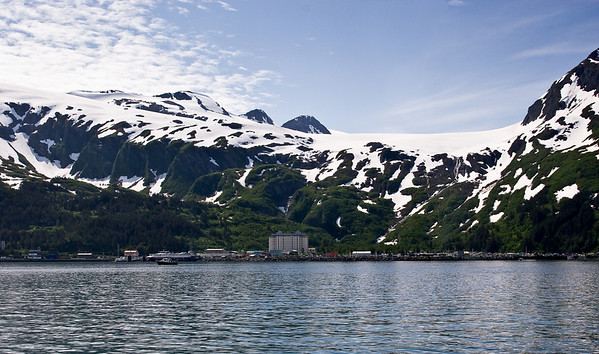 Whittier, Alaska. Population of 182 people, 86 households, and 46 families.