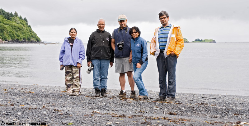August 1, 2007 - Driving to chiniak Bay, Kodiak Island <br /> <br /> Stop at Women's bay to watch the salmon jump