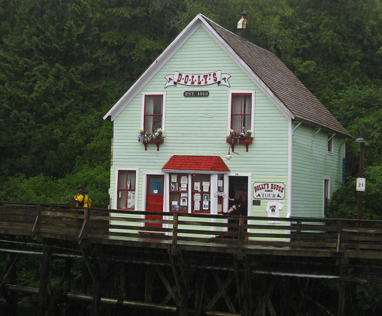 Dolly's House of Ill Repute.  At one time, it was in full swing operation.  Now it is just a tourist site.