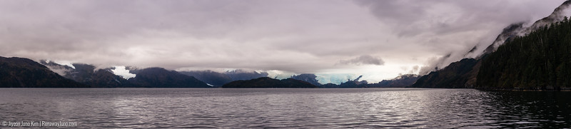 Prince William Sound panorama