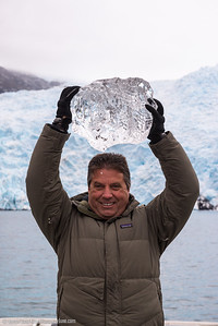 Hanging out with an ancient glacial ice