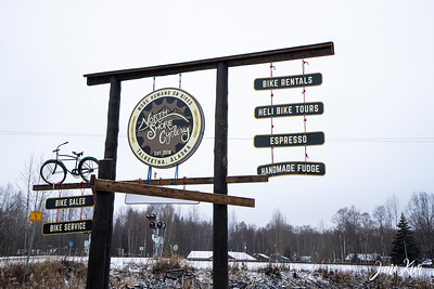 North Shore Cyclery in Talkeetna