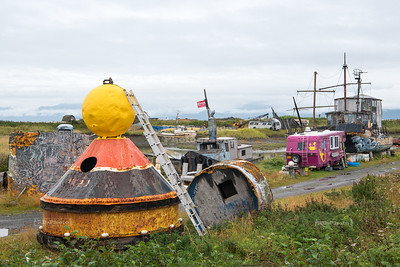 Boat Junk Yard