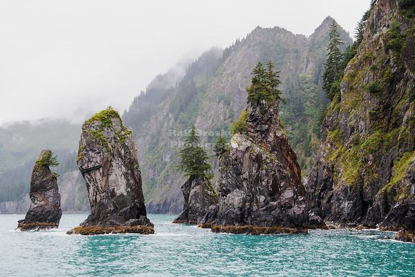 Coastal Rock Spires