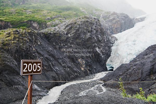 Terminus of the Exit Glacier
