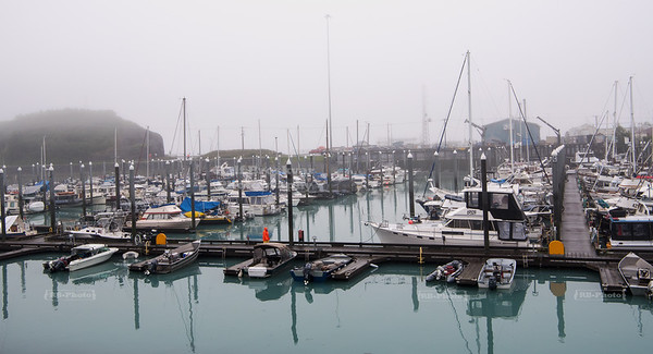 Yacht harbor in Valdez, Alaska