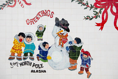 Greetings from North Pole, Alaska