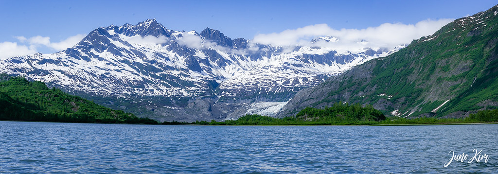 A view of Shoup Bay. You can see the tail end of Shoup Glacier.