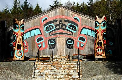 Clan House, Saxman Totem Park, Ketchikan