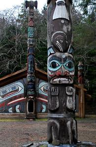 Blackfish Totem, Totem Bight Park, Ketchikan