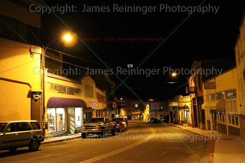 Downtown at Night<br /> Bisbee, Arizona