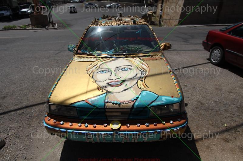 Hillary Clinton Car