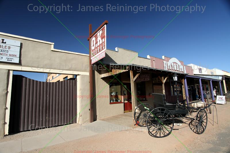 OK Corral<br /> Tombstone, Arizona