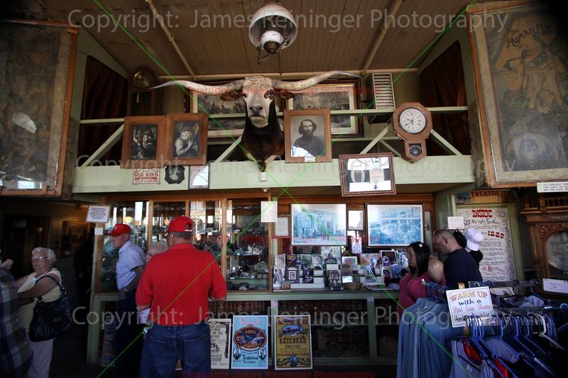 Inside the Birdcage Theatre<br /> Tombstone, Arizona