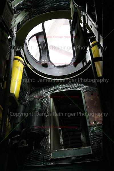 Inside of a B-17 Bomber