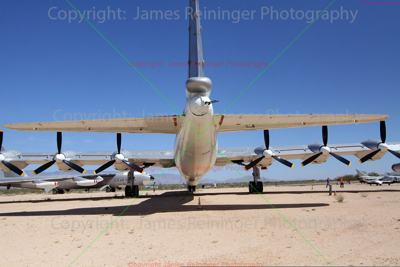 Back end of a B-36 Bomber