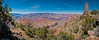 Panorama of the Grand Canyon with Desert View Watchtower