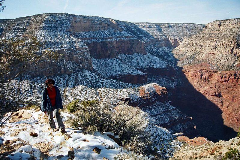 hiking the Grand Canyon, AZ